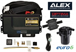 Optima Expert minikit 4V OBD jednotka s podporou OBD, filtr, snímač hladiny