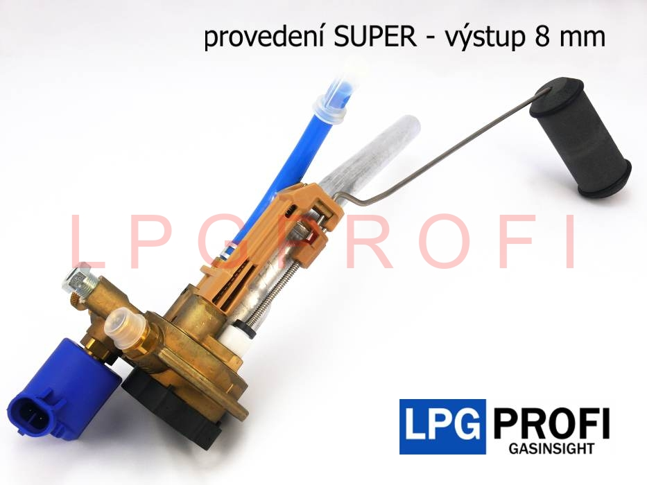 Multiventil LPG externí 200/0° EX SUPER 8mm TOMASETTO